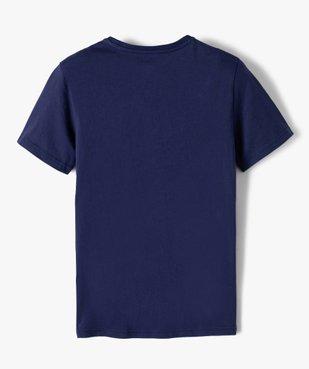 Tee-shirt garçon imprimé football américain - Camps vue3 - CAMPS UNITED - GEMO