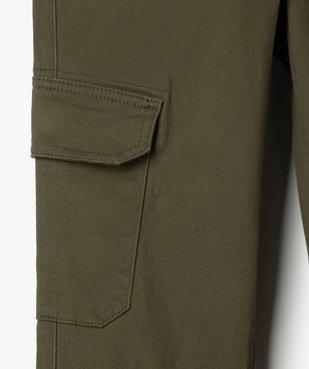 Pantalon garçon coupe cargo vue3 - GEMO (ENFANT) - GEMO