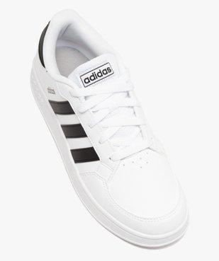 Baskets garçon bicolores à lacets - Adidas Breaknet vue5 - ADIDAS - Nikesneakers