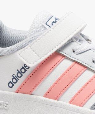 Baskets fille à lacets et scratch – Adidas Breaknet vue6 - ADIDAS - Nikesneakers