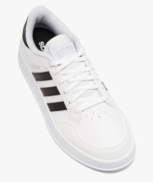 Tennis femme bicolores à lacets – Adidas Breaknet vue5 - ADIDAS - Nikesneakers