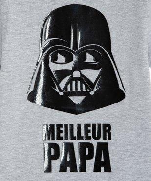 Tee-shirt garçon motif Dark Vador - Star Wars vue2 - STAR WARS - GEMO