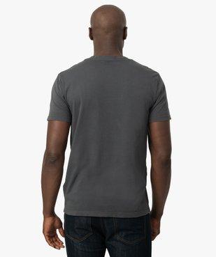 Tee-shirt homme avec inscription rock - Kiss vue3 - KISS - GEMO