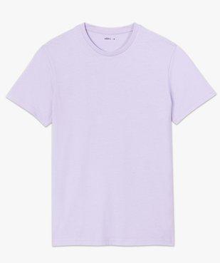 Tee-shirt homme à manches courtes et col rond vue4 - GEMO (HOMME) - GEMO
