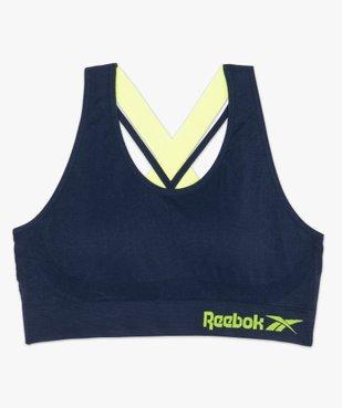 Brassière femme spéciale sport avec dos croisé - Reebok vue4 - REEBOK - GEMO