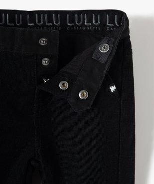 Pantalon bébé garçon en velours – Lulu Castagnette vue3 - LULUCASTAGNETTE - GEMO