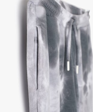 Pantalon de jogging fille bicolore effet tie and dye vue4 - GEMO (JUNIOR) - GEMO