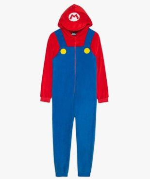 Combinaison d'intérieur garçon multicolore – Super Mario vue1 - MARIO - GEMO