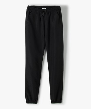 Pantalon de sport fille fluide avec bas resserré vue1 - GEMO (JUNIOR) - GEMO