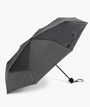 Parapluie femme pliable en toile unie vue1 - GEMO (ACCESS) - GEMO