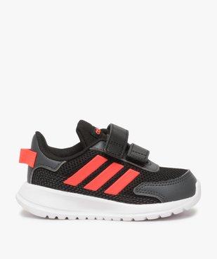 Baskets bébé garçon bi-matières à scratch - Adidas vue1 - ADIDAS - Nikesneakers