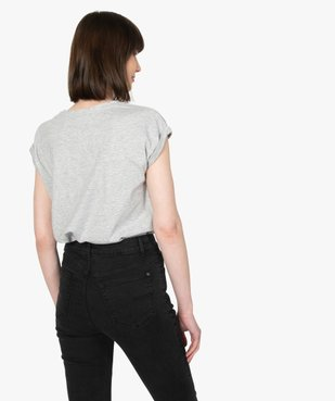 Tee-shirt femme à manches courtes et col rond vue3 - Nikesneakers C4G FEMME - Nikesneakers