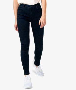 Jean femme coupe skinny 5 poches vue2 - GEMO(FEMME PAP) - GEMO