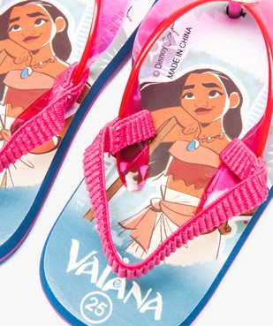 Tongs fille avec bride Vainana - Disney vue3 - VAIANA - GEMO