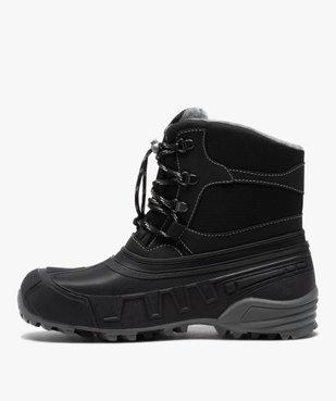 Après-skis homme style chaussures de montagne à lacets vue3 - GEMO (EQUIPT) - GEMO