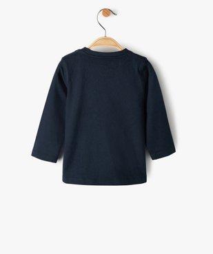 Tee-shirt bébé garçon avec motifs rock – Lulu Castagnette vue3 - LULUCASTAGNETTE - GEMO