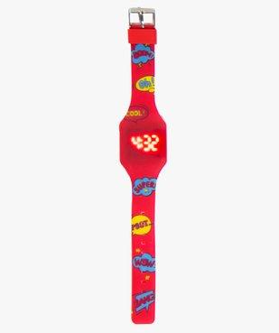 Montre enfant Touch ultra-plate Pop Watch vue2 - GEMO (ENFANT) - GEMO