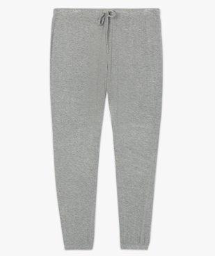 Bas de pyjama femme fluide avec chevilles élastiquées vue4 - GEMO(HOMWR FEM) - GEMO