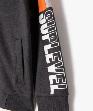Sweat garçon en molleton à zip et capuche vue2 - Nikesneakers (ENFANT) - Nikesneakers