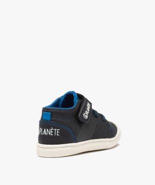 Chaussures premiers pas bébé garçon – Alma Planète vue4 - ALMA PLANETE - GEMO