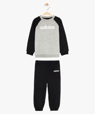 Jogging bébé en matière molletonnée - Adidas vue1 - ADIDAS - GEMO