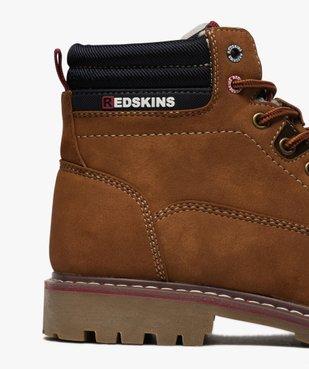 Boots homme à col rembourré et semelle crantée  - Redskins vue6 - REDSKINS - GEMO