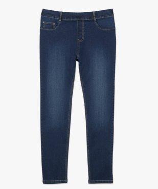 Jegging femme taille normale en coton stretch vue4 - GEMO (G TAILLE) - GEMO