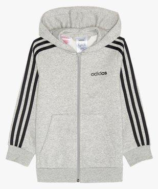 Sweat enfant à capuche et fermeture zippée - Adidas vue1 - ADIDAS - GEMO