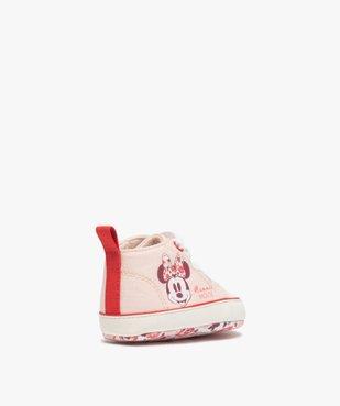 Tennis de naissance bébé fille en toile Minnie Mouse  vue4 - MINNIE - Nikesneakers