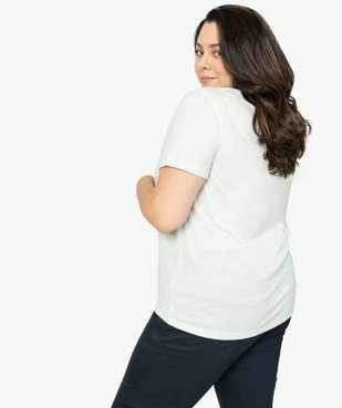 Tee-shirt femme à manches courtes et col rond vue3 - Nikesneakers (G TAILLE) - Nikesneakers