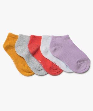 Chaussettes bébé fille courtes (lot de 5) vue1 - Nikesneakers C4G BEBE - Nikesneakers