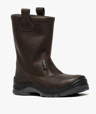Chaussures professionnelles homme bottes de sécurité vue2 - GEMO (EQUIPT) - GEMO