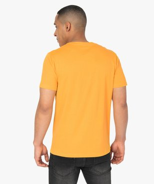 Tee-shirt homme à manches courtes imprimé nature - Roadsign vue3 - ROADSIGN - GEMO