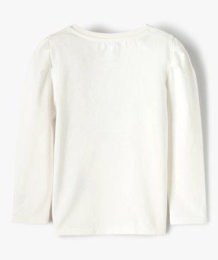 Tee-shirt fille à manches longues avec sequins – Lulu Castagnette vue4 - LULUCASTAGNETTE - GEMO