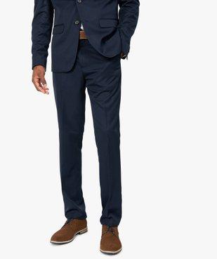 Pantalon de costume homme coupe ajustée vue1 - GEMO (HOMME) - GEMO