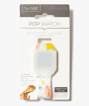Montre enfant Touch ultra-plate Pop Watch vue1 - GEMO (ENFANT) - GEMO