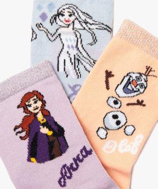 Chaussettes fille avec motifs et paillettes – La Reine des Neiges II vue2 - DISNEY DTR - Nikesneakers