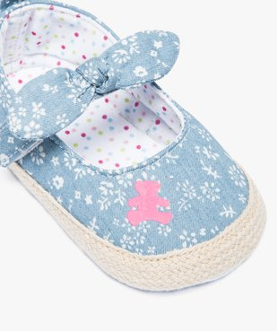 Babies en textile et semelle de corde - Lulu Castagnette vue6 - LULUCASTAGNETTE - GEMO