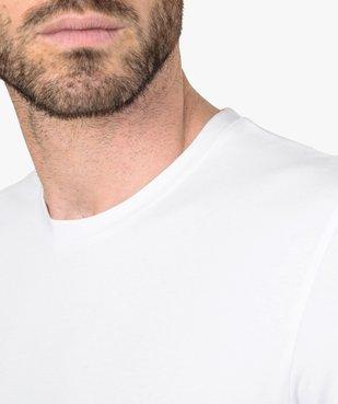 Tee-shirt homme à manches longues en coton bio vue2 - GEMO C4G HOMME - GEMO