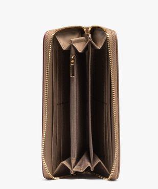 Portefeuille femme multicolore zippé vue3 - GEMO (ACCESS) - GEMO