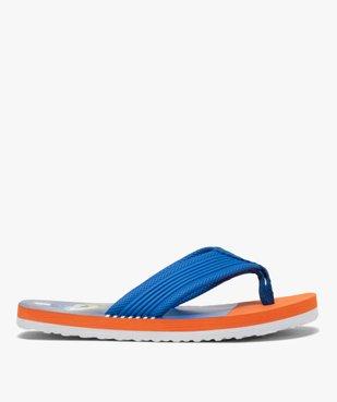 Tongs garçon imprimées surf à entre-doigts en toile vue2 - Nikesneakers (ENFANT) - Nikesneakers