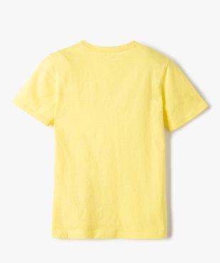 Tee-shirt garçon à manches courtes imprimé streetwear vue3 - GEMO C4G GARCON - GEMO