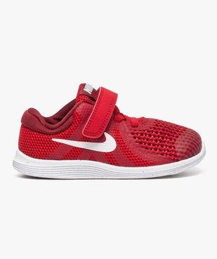 Baskets basses lacets et scratchs Nike Revolution 4 vue1 - NIKE - GEMO