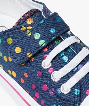 Tennis fille dessus textile recyclé - Les Supaires vue6 - GEMO C4G FILLE - GEMO