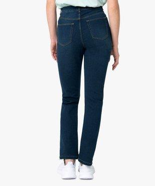 Jean femme coupe Regular 4 poches vue3 - GEMO (JEAN) - GEMO