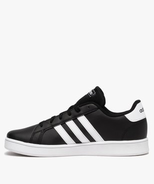 Baskets garçon à lacets – Adidas Grand Court vue3 - ADIDAS - Nikesneakers