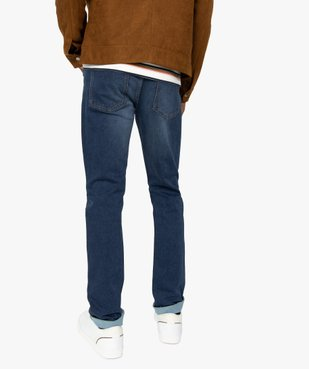 Jean homme coupe slim vue3 - Nikesneakers (HOMME) - Nikesneakers