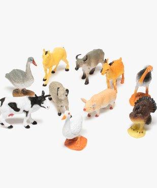 Figurines animaux de la ferme (lot de 12) – Kim Play vue2 - KIM PLAY - GEMO