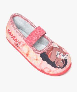 Chaussons fille avec motifs et paillettes Vaiana - Disney vue5 - VAIANA - GEMO