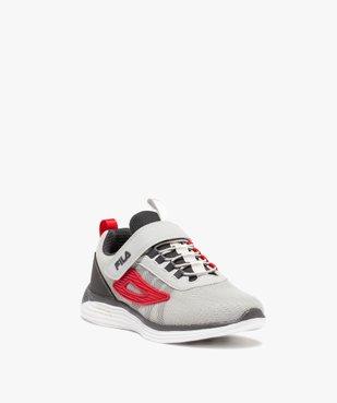Baskets garçon style running en mesh – Fila Newmodel vue2 - FILA - Nikesneakers